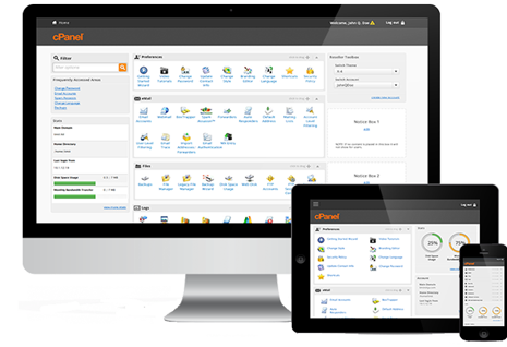 cPanel & WHM demo </p>